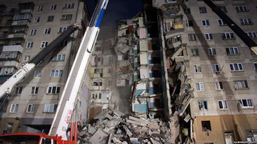 Число жертв обрушения дома в Магнитогорске выросло до восьми