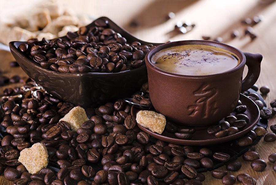 Фото красивые чашка кофе, смешного поцелуя
