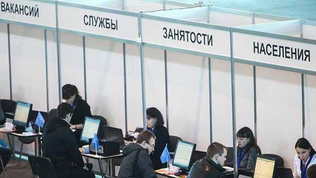 Уровень безработицы в России в 2020 году