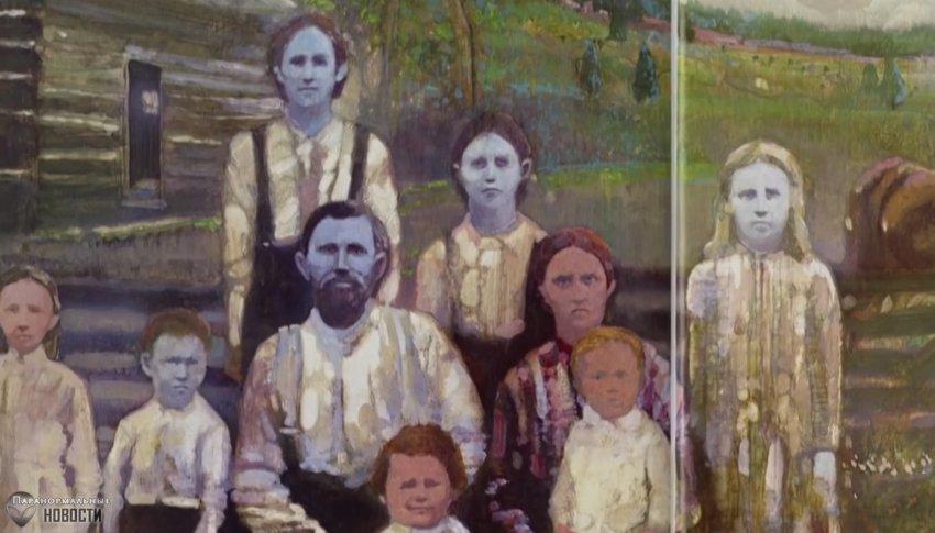 Загадка семьи с голубой кожей из Кентукки