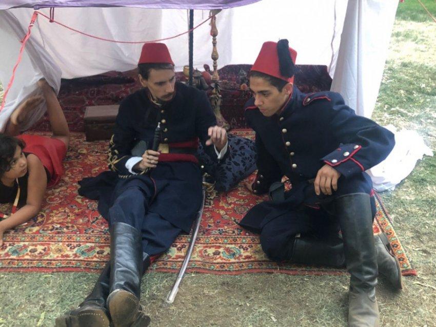 Фестиваль «Времена и эпохи» воссоздал события Русско-турецкой войны