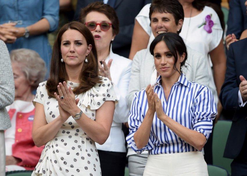 Королевский эксперт: Кейт Миддлтон завидует Меган Маркл из-за умения держаться на публике