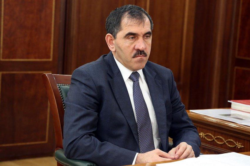Глава Ингушетии Юнус-Бек Евкуров подал в отставку