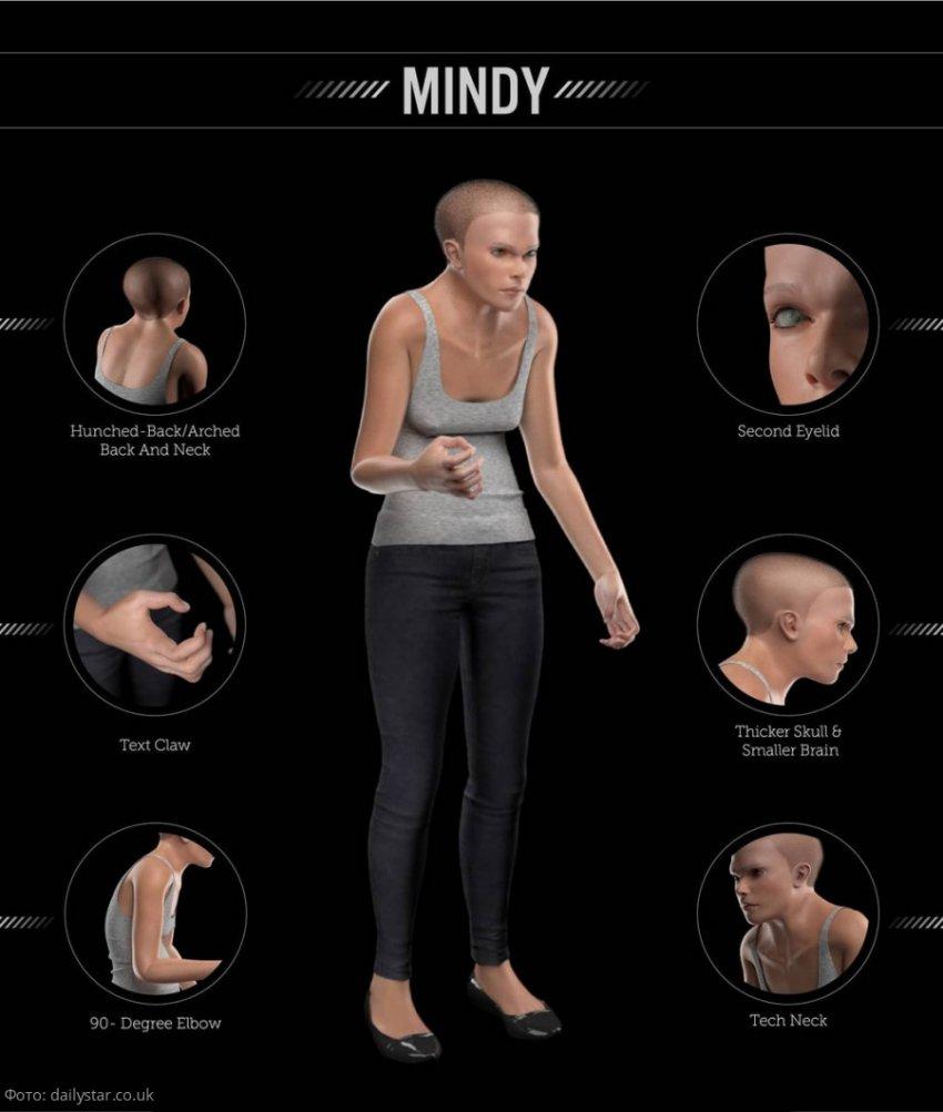 Ученые из США показали, как изменится внешность человека к 2100 году