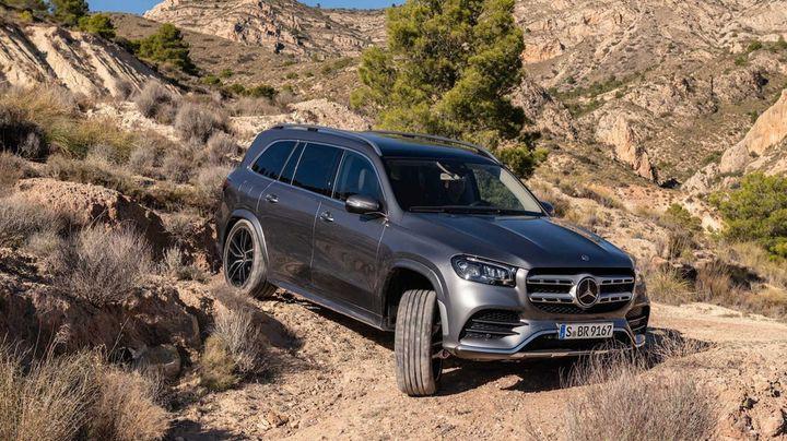 Mercedes GLS 2020 года