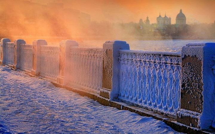 Погода в январе 2019 года в Санкт-Петербурге