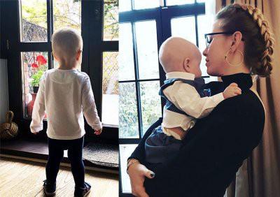 Ксения Собчак и ее сын Платон поздравили Максима Виторгана с днем рождения