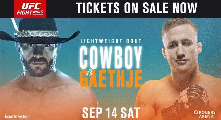 UFC Fight Night 158: Ковбой Серроне vs. Гэтжи. Прямая онлайн трансляция взвешивания