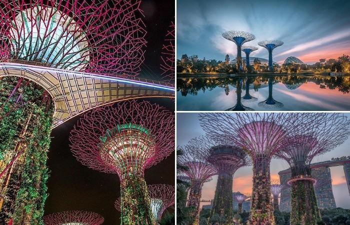 Футуристическая архитектура Азии глазами авиатора