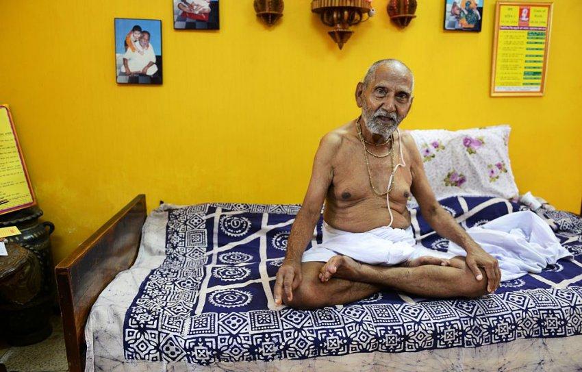124-летний житель Индии раскрыл секрет своего долголетия