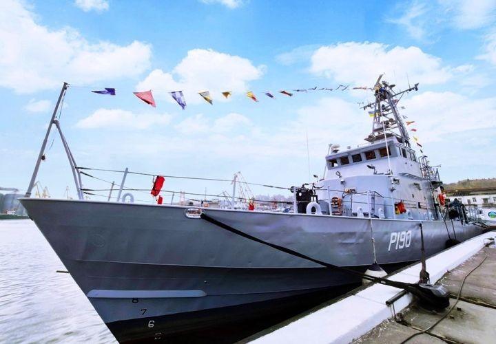 В состав ВМС Украины вошли два подержанных американских катера