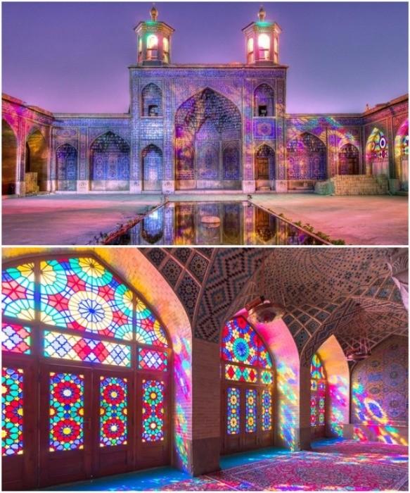 Магия строительства Насир-аль-Мульк - «Радужной мечети» Ирана