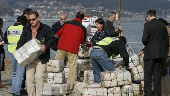 В Испании задержали мини-подлодку наркомафии