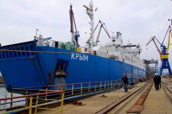 Киев ввел санкции в отношении более ста предприятий из-за их деятельности в Крыму