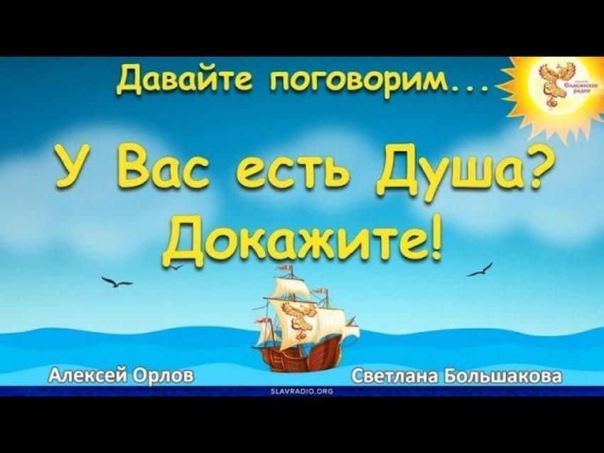 У вас есть ДУША? Докажите! Алексей Орлов и Светлана Большакова