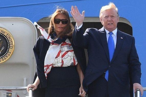 Трамп прибыл в Британию на саммит НАТО