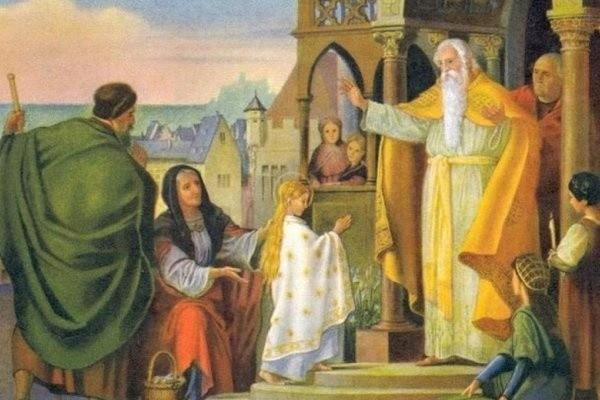 4 декабря 2019 года отмечается Введение во храм Пресвятой Богородицы