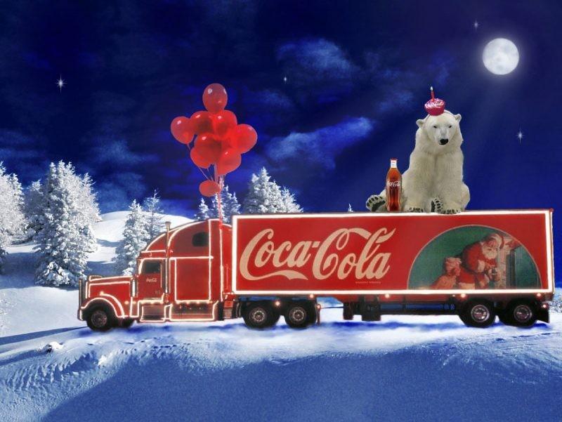 Новогодние подарки от Кока Колы уже получили тысячи россиян