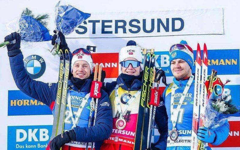 По результатам первого этапа Кубка мира по биатлону 2019-2020 года сборная России заработала только 1 бронзовую медаль