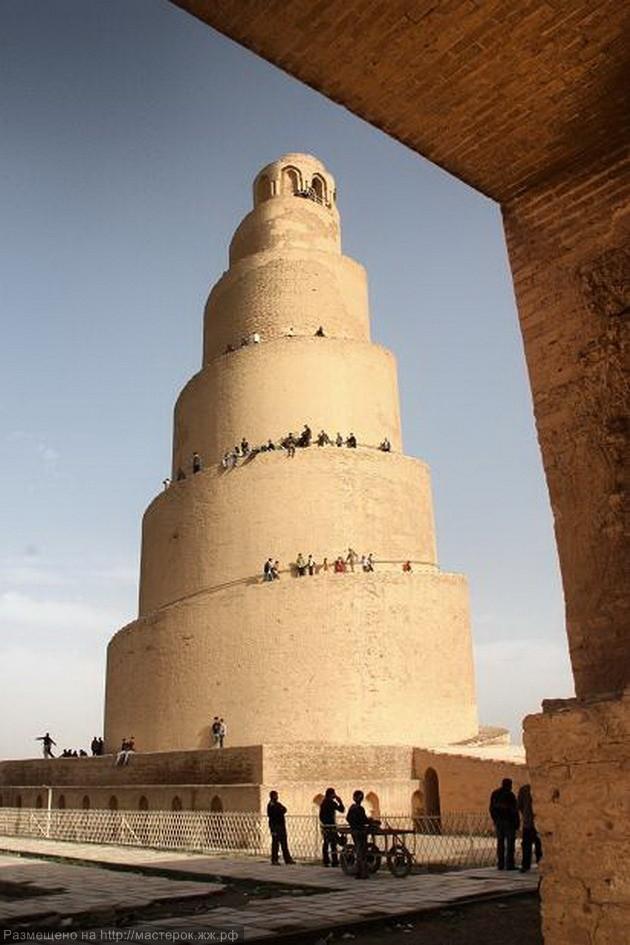 """Возведение """"Вавилонской Башни"""" - грандиозного сооружения в Самарре"""