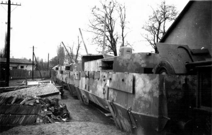 Феномен «Зелёного призрака»: вермахт против советского бронепоезда