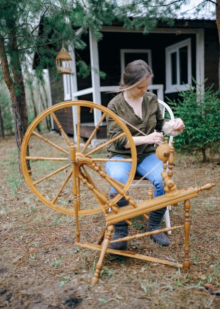 Профессия — пряха: Старинное ремесло для трудолюбивых