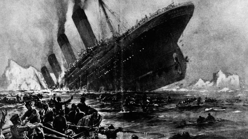 Спустя 108 лет нашли фото айсберга, который стал причиной крушения Титаника
