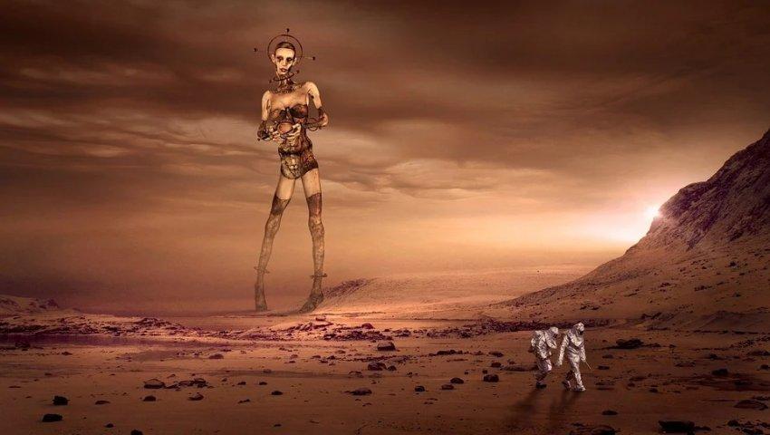 Планетолог считает, что на Марсе в прошлом была жизнь