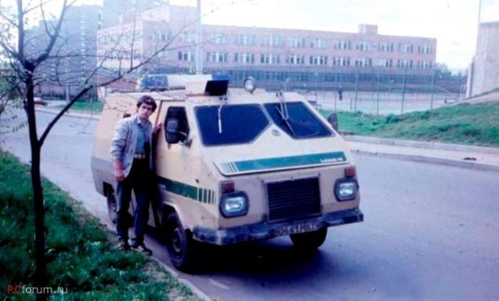 Изобретение первого инкассаторского броневика СССР
