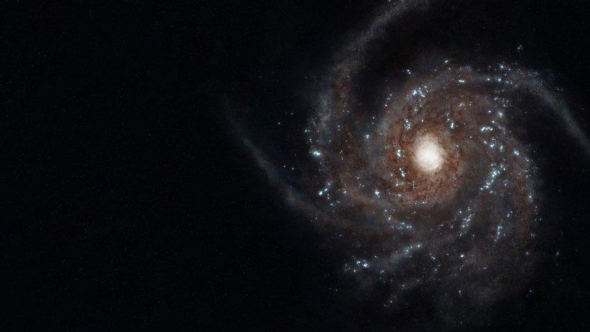 """За Млечным Путем обнаружена """"стена"""" длиной в миллиард световых лет"""