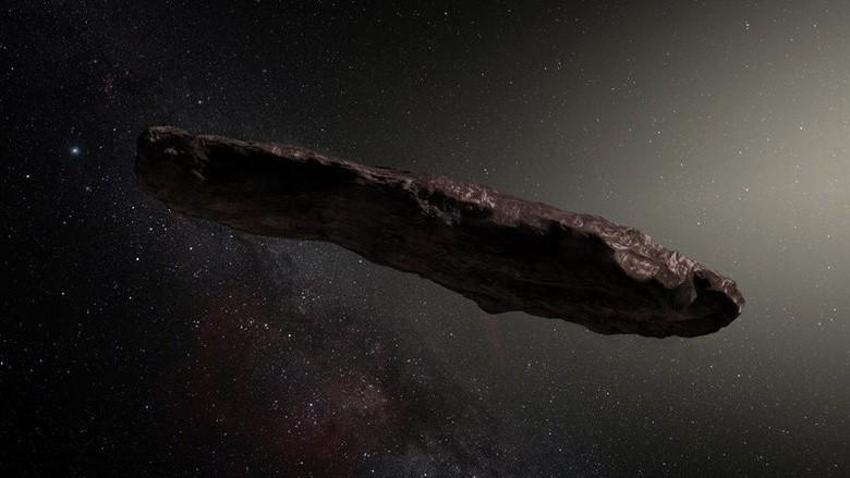 Все таки «инопланетный зонд»: ученые не могут объяснить природу Оумуамуа