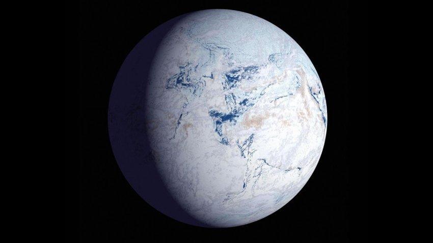 Ученые определили, какой была температура в ледниковый период