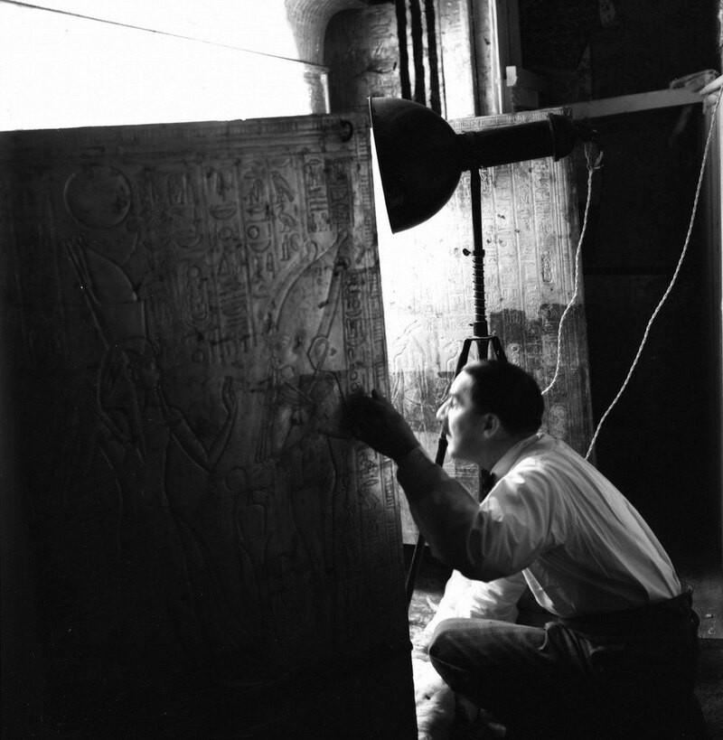 Гробница Тутанхамона: уникальные снимки египтолога Говарда Картера
