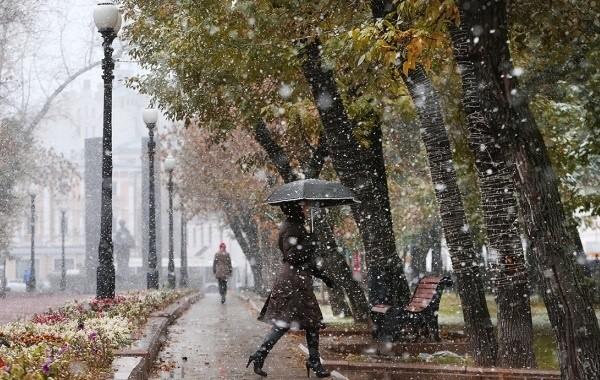 В Гидрометцентре рассказали о похолодании и первом снеге в октябре