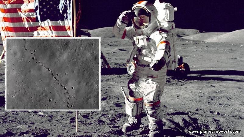 На Луне нашли странные следы, которые точно не были оставлены астронавтами во время высадки
