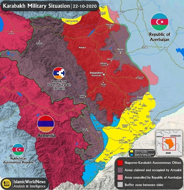 Минобороны Армении заявило о ликвидации азербайджанской разведгруппы