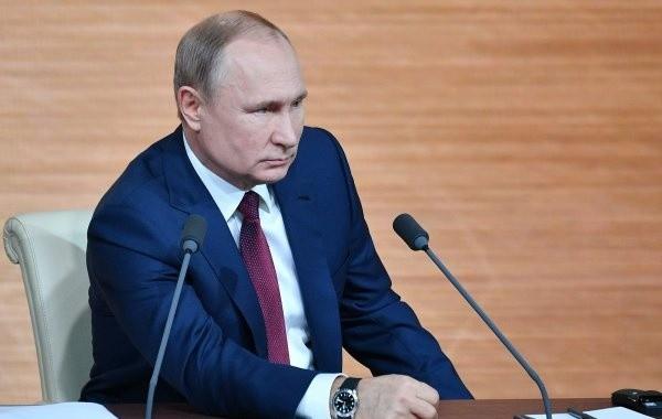В Кремле рассказали о пресс-конференции Владимира Путина
