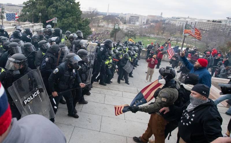 Американские политики осудили массовые беспорядки в Вашингтоне, организованные в 2021 году