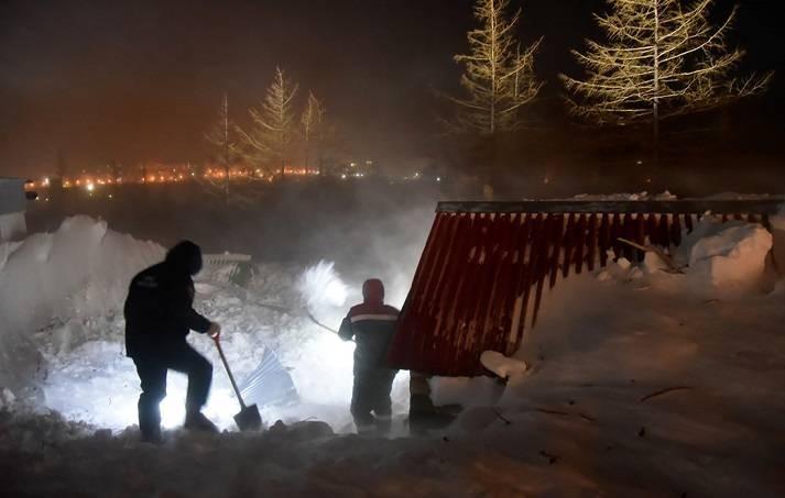 В Норильске 10 января 2021 года объявлен День траура по погибшим в лавине людям