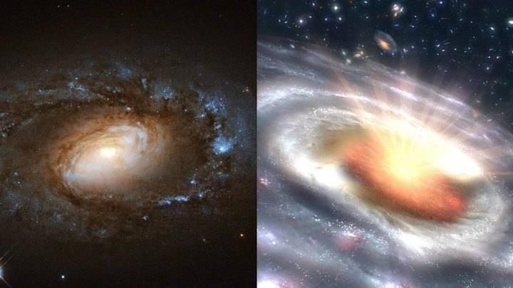 Астрономы в начале 2021 года открыли новый квазар