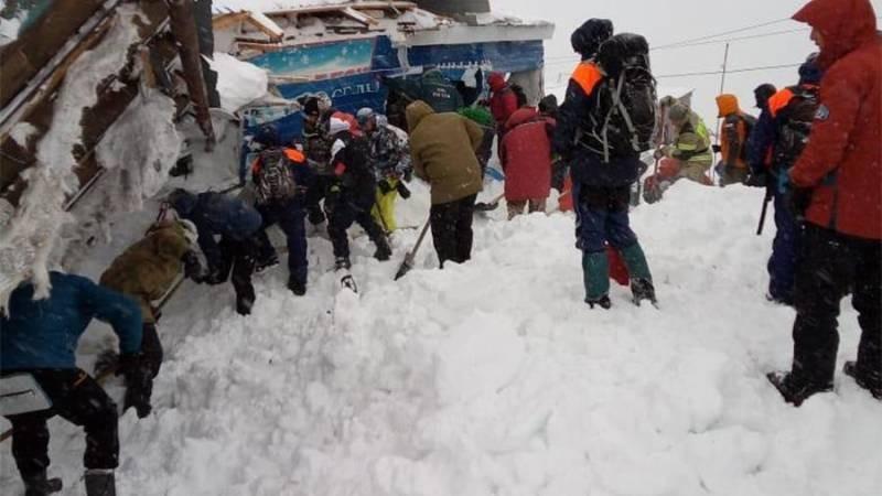 При сходе лавины на Домбае 18 января 2021 года погибли и пострадали лыжники
