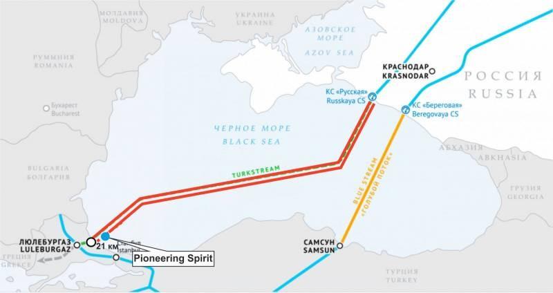 Что будет с «Северным потоком – 2», если произойдет остановка строительных работ