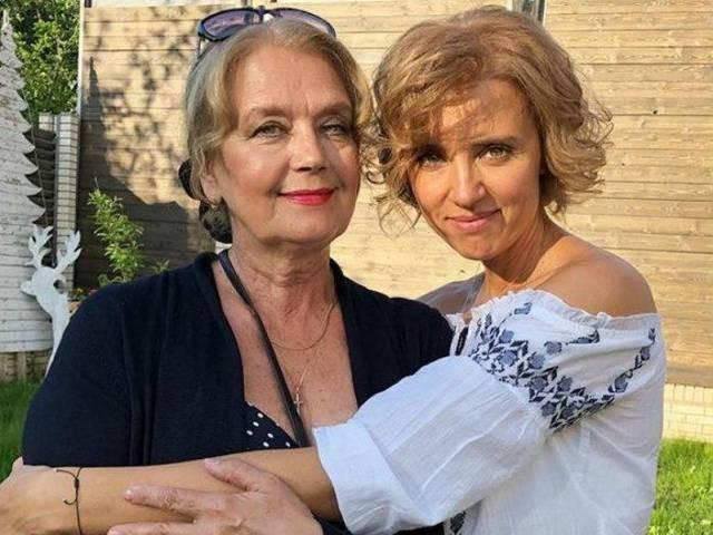Ирина Алферова впервые показала своего приемного сына