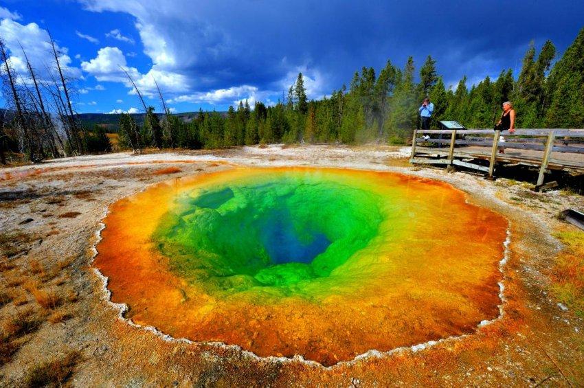 Йеллоустоунский вулкан может проснуться 21 августа 2021 года