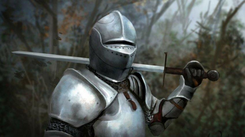Как пробивали броню рыцарей