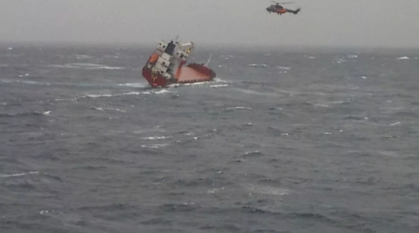 На затонувшем в Черном море 17 января 2021 года сухогрузе имеются погибшие