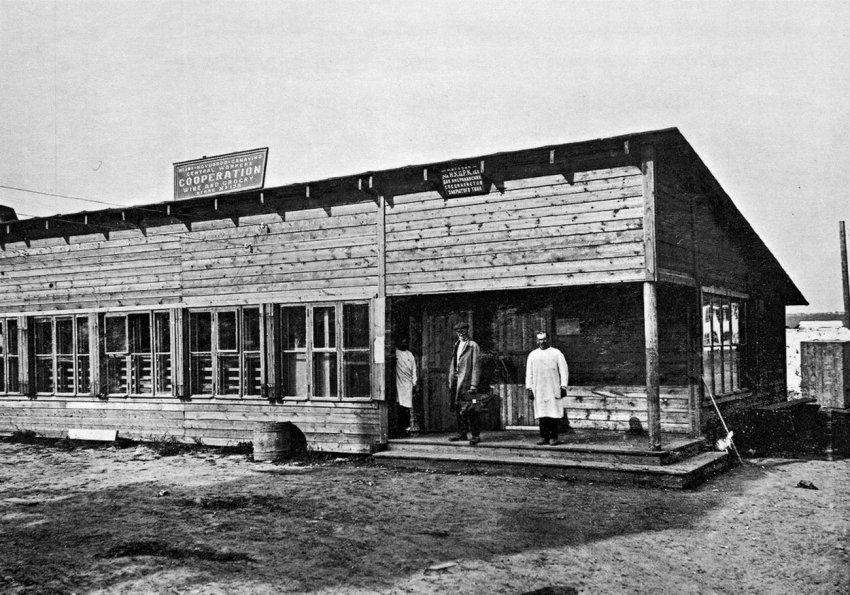 Откуда в советской России посёлки американского типа?