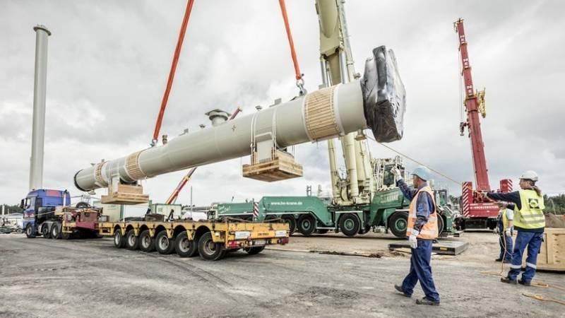 Газопровод Северный поток-2 закончен более чем на 95%