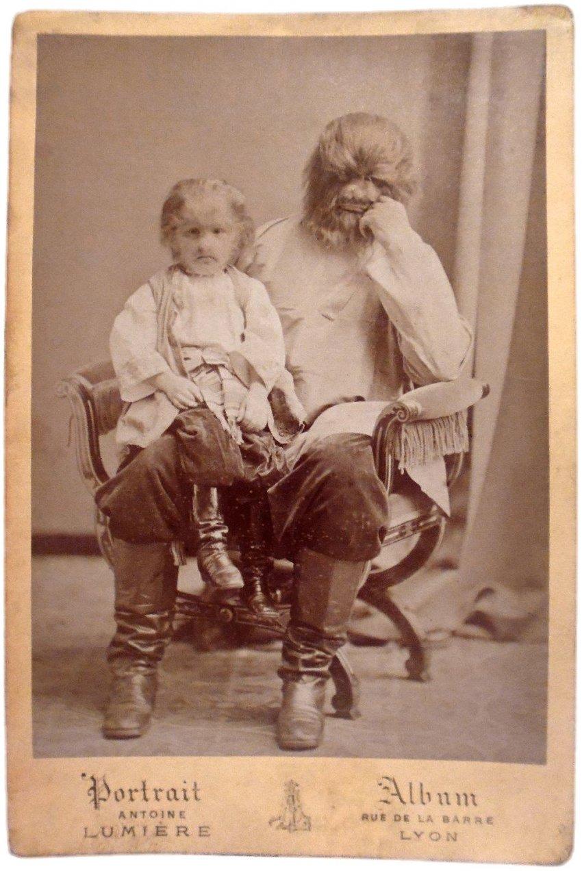 Фёдор Евтихиев: волосатый человек из Костромы