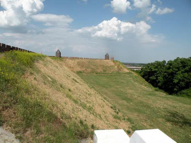 Круговые крепости викингов